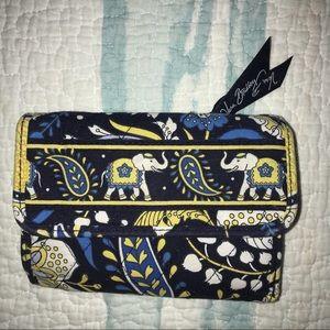 vera bradley elephant wallet